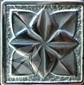 Вставка Лилия Серебро 5x5