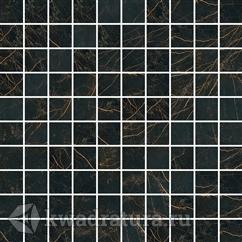 Мозайка Marble Mos.T100 Nero Lap 29.1x29.1