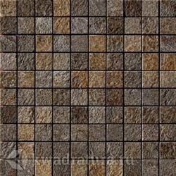 Мозаика Mineral Chrom Mos. Brown (3x3) 30x30