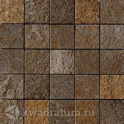 Мозаика Mineral Chrom Mos. Brown (6x6) 30x30