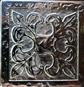 Вставка Вензель Серебро 5x5