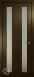 Межкомнатная дверь Океан Ника 3 СТ Бел венге
