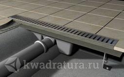 Универсальный водоотводящий желоб  Alcaplast APZ1-650