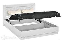 Кровать Амели с мягким изголовьем с подъемным механизмом 1600