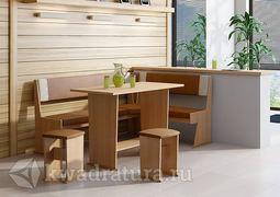 Кухонный уголок Амиго Ольха