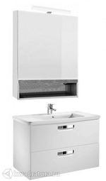 Набор мебели для ванной Roca The Gap белый 80