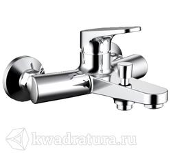 Смеситель для ванны и душа Bravat F6191238CP01RUS Eler с коротким изливом