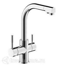 Смеситель для кухни Bravat F729261CPRUS Palace с подключением к фильтру с питьевой водой