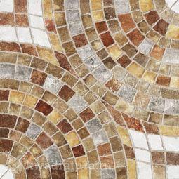 Напольная плитка М-Квадрат Бремен Клинкер коричневый 45х45 см
