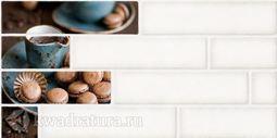 Декор Березакерамика Брик 1 Кремовый  30х60 см