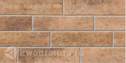 Настенная плитка Березакерамика Брик коричневый 30х60 см
