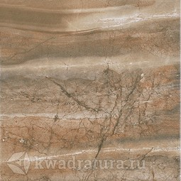 Керамогранит Cersanit Brosta коричневый 42x42 см