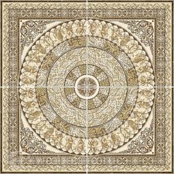 Панно Absolut Keramika Roseton Marble 90x90