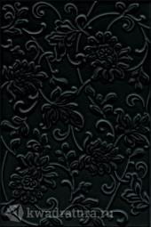 Плитка для стен Kerama MarazziАджанта цветы черный 20х30