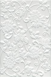 Плитка для стен Kerama Marazzi Аджанта цветы белый 20х30