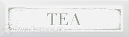 Kerama Marazzi Декор Tea зеленый 8.5x28.5
