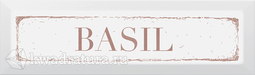 Kerama Marazzi Декор Basil карамель 8.5x28.5