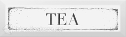 Kerama Marazzi Декор Tea черный 8.5x28.5