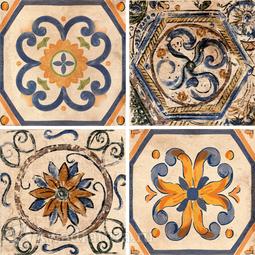 Декор Absolut Keramika Arsenal (4 вида) 20x20