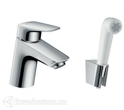 Смеситель для раковины Hansgrohe 71290000 Logis с гигиеническим душем