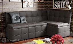 Кухонный уголок Домино Скамья-диван угловая со спальным местом Коричневый