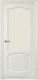 Межкомнатная дверь Дриада СТ Дуб белый жемчуг
