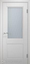 Межкомнатная дверь Двери и К 68 Валетта ДО эмаль белая