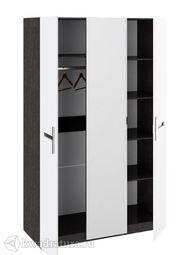 Шкаф Фьюжн  с 3-мя дверями 2 гл+1 ст