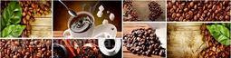 Кухонный фартук ХДФ Грин кофе