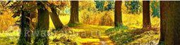 Кухонный фартук ХДФ Осенний лес