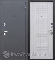 Входная дверь Феррони Гарда 8 мм Муар/Белый ясень