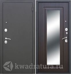 Входная дверь Феррони Гарда 6 мм Царское зеркало Муар/Венге
