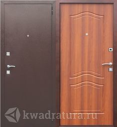 Входная дверь Феррони  Доминанта Рустикальный дуб