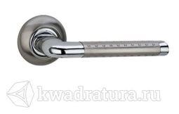 Дверная ручка Galeria 123 хром