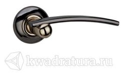 Дверная ручка Galeria 127 черный никель