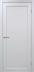 Межкомнатная дверь OPorte Турин 501.1 белый монохром