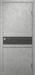 Межкомнатная дверь Двери и К 35 Бетон светлый Дизайн