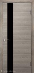Межкомнатная дверь Двери и К 22 Велум Макан S чёрный