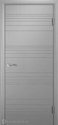 Межкомнатная дверь Двери и К 62 Нарита ДГ эмаль светло-серая
