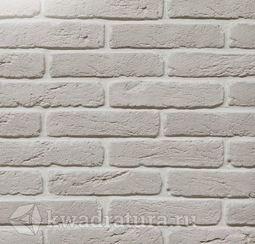 Декоративный гипсовый камень Старый кирпич белый