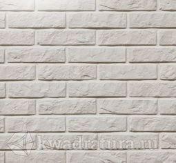 Декоративный гипсовый камень Дикий кирпич белый