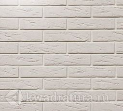 Декоративный гипсовый камень Немецкий кирпич белый