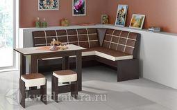 Кухонный уголок Кантри Т1 исп.2 Венге