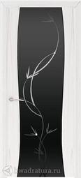 Межкомнатная дверь Кипарис 2 ДО Лиана Дуб белый жемчуг