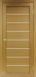 Межкомнатная дверь OPorte Турин 508 Орех