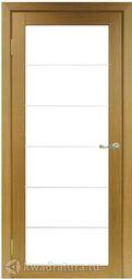 Межкомнатная дверь OPorte Турин 501АСС Молдинг SC Орех