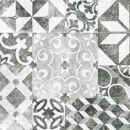 Керамогранит Cersanit Raven декор серый 42х42 см