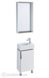 Комплект мебели для ванной Акватон Бэлла 45 белый