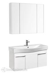 Комплект мебели для ванной Акватон Беверли 100 белый