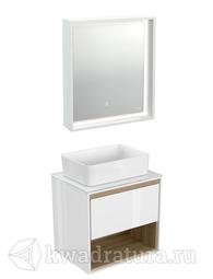 Комплект мебели для ванной Cersanit Louna 60 белый